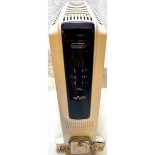デロンギ(DeLonghi)の美品 デロンギ オイルヒーター ドラゴンデジタル スマート QSD0915 MB(オイルヒーター)