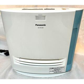 パナソニック(Panasonic)の美品 パナソニック セラミックファンヒーター ブルー DS-FKS1204-A(ファンヒーター)