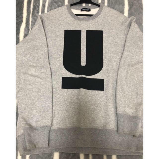 UNDERCOVER(アンダーカバー)の【美品】undercover トレーナー グレー M  メンズのトップス(スウェット)の商品写真