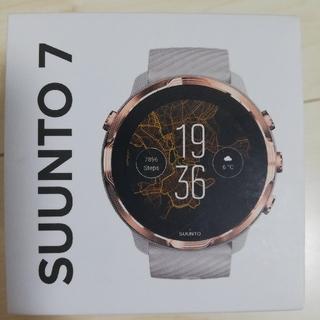 スント(SUUNTO)の新品未使用 正規品 国際保証書付 SUUNTO 7 スント7 ローズゴールド(腕時計(デジタル))