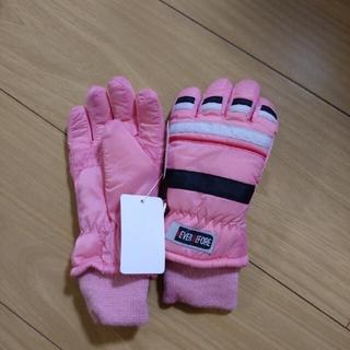 サイズ3-4才新品手袋(手袋)