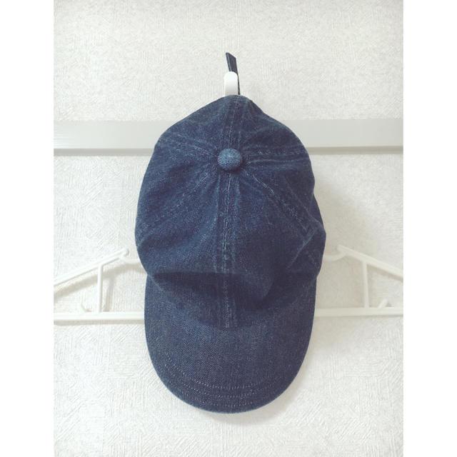 MUJI (無印良品)(ムジルシリョウヒン)の無印良品 デニム キャップ レディースの帽子(キャップ)の商品写真