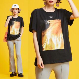 adidas - 新品 adidas オリジナルス グラフィック Tシャツ 半袖 レディース M