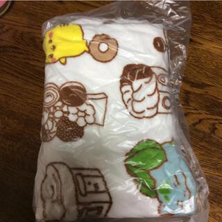 ポケモン(ポケモン)のブランケット 毛布 ポケモン ミスタードーナツ かわいい(おくるみ/ブランケット)