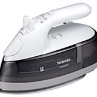 トウシバ(東芝)の東芝 TA-EV6(H) コード付きスチームアイロン グレー  新品(アイロン)