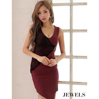 ジュエルズ(JEWELS)の新品未使用♡バイカラーミニタイトドレス(ミニドレス)