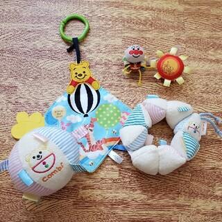 コンビ(combi)のベビーおもちゃ まとめ売りベビーおもちゃ4点(知育玩具)
