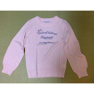 メゾピアノジュニア(mezzo piano junior)の【新品同様】メゾピアノmezzo piano セーター 150サイズ(ニット)