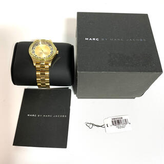 マークバイマークジェイコブス(MARC BY MARC JACOBS)のマークバイマークジェイコブス 時計 ヘンリー スケルトン 【極美品】(腕時計)