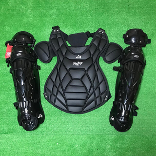 Rawlings - ※展示品※ 一般ソフトボール用 キャッチャー プロテクター レガース バッグ