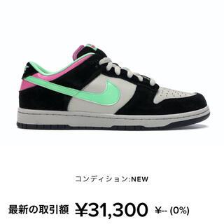 ナイキ(NIKE)のNike sb dunk low magnet green 28cm(スニーカー)