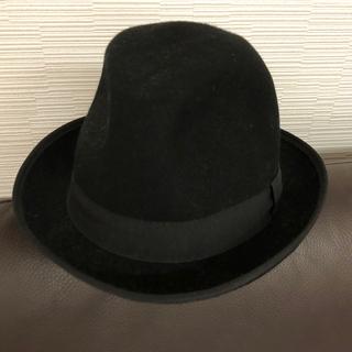 アニエスベー(agnes b.)のagnes b. アニエスベー 男女兼用 ウールハット 帽子 イタリア製(ハット)
