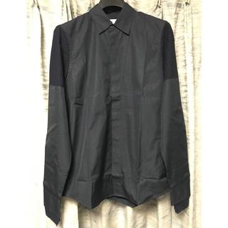マルニ(Marni)の8.5万 44 新品 MARNIマルニ 長袖シャツ ネイビー ストライプ 再構築(シャツ)