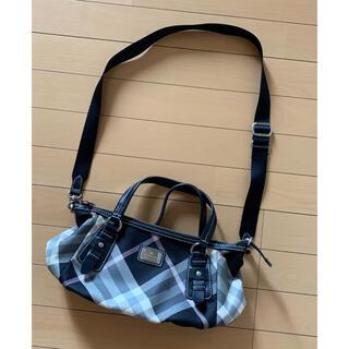 バーバリーブルーレーベル(BURBERRY BLUE LABEL)のBURBERRY ブルーレーベル ショルダーbag バーバリーチェック bag(ショルダーバッグ)