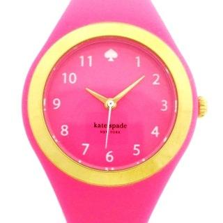 ケイトスペードニューヨーク(kate spade new york)のケイト 腕時計美品  - 0608 レディース(腕時計)