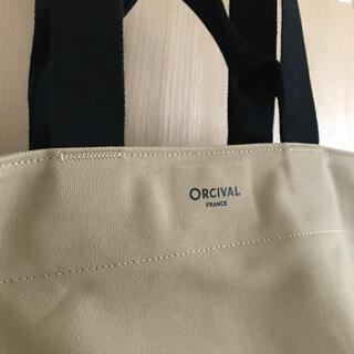 オーシバル(ORCIVAL)の新品同様 オーシバル/オーチバル 2wayトート大 ライトキャンバス (トートバッグ)