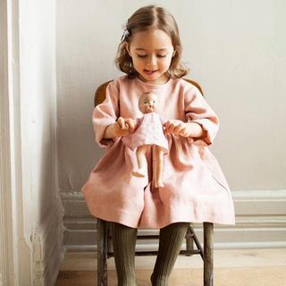 Caramel baby&child  - soor ploom リネンワンピース 2/3Y