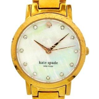 ケイトスペードニューヨーク(kate spade new york)のケイト 腕時計 - 3ATM レディース(腕時計)