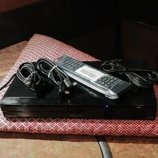 トウシバ(東芝)の東芝/REGZA ブルーレイDBR-C100 320GB リモ等付 外付けHDD(ブルーレイレコーダー)