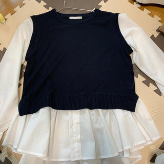 イッツデモ(ITS'DEMO)のニットシャツ(シャツ/ブラウス(長袖/七分))