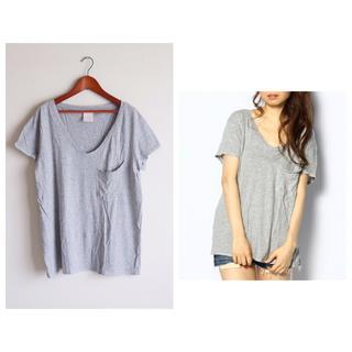 ラヴィジュール(Ravijour)のRavijour ステッチルーズTグレー(Tシャツ(半袖/袖なし))