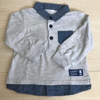 ニシマツヤ(西松屋)の西松屋 シャツ 80 長袖 薄手 男の子(シャツ/カットソー)