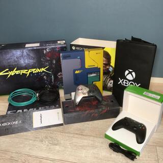 マイクロソフト(Microsoft)のMicrosoft Xbox One X サイバーパンク2077 リミテッド(家庭用ゲーム機本体)