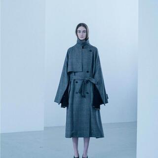 サンシー(SUNSEA)の19aw stein lay oversized overlap coat(チェスターコート)
