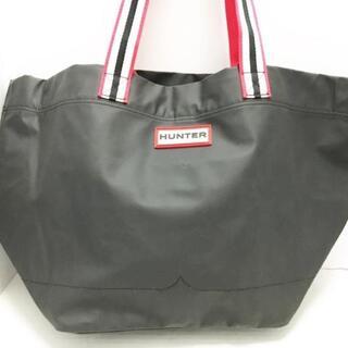 ハンター(HUNTER)のハンター トートバッグ - 黒×レッド×白(トートバッグ)