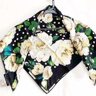 ドルチェアンドガッバーナ(DOLCE&GABBANA)のドルチェアンドガッバーナ スカーフ美品  -(バンダナ/スカーフ)