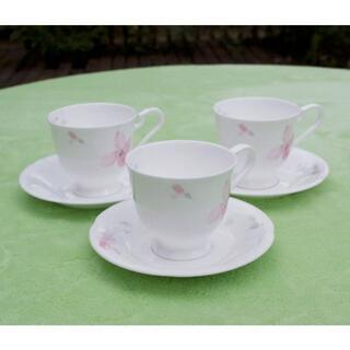 ニッコー(NIKKO)のNIKKO ファイン ボーンチャイナ コーヒーカップ(食器)