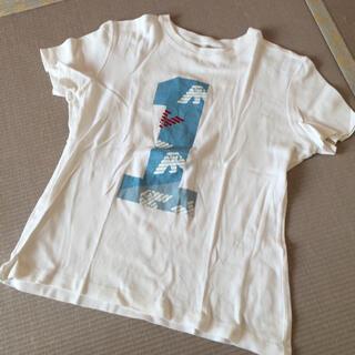エンポリオアルマーニ(Emporio Armani)のエンポリオ アルマーニ ♡ 白 トップス(Tシャツ(半袖/袖なし))
