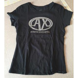 アルマーニエクスチェンジ(ARMANI EXCHANGE)のアルマーニ エクスチェンジ ♡ 黒 トップス(Tシャツ(半袖/袖なし))