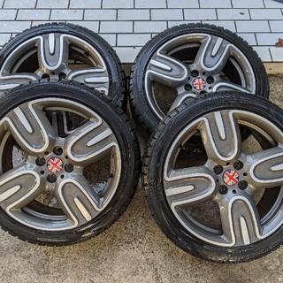 ビーエムダブリュー(BMW)のアルミホイールスタッドレスタイヤ付(タイヤ・ホイールセット)
