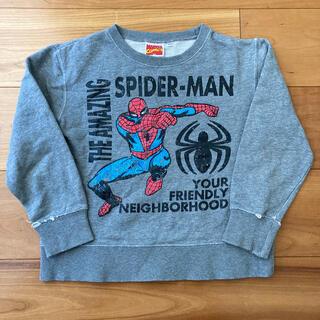 マーベル(MARVEL)の【USED】ヴィンテージ風 スパイダーマン トレーナー サイズ120マーベル(Tシャツ/カットソー)