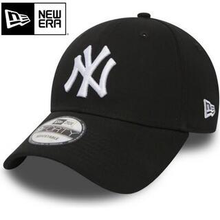 ニューエラー(NEW ERA)のニューエラ キャップ NY ヤンキース 黒 ブラック Black(キャップ)