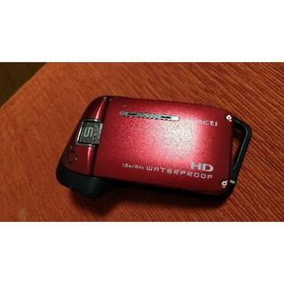 サンヨー(SANYO)のSANYO Xacti WATERPROOF DMX-CA9 防水 カメラ ジャ(ビデオカメラ)