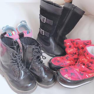 ベベ(BeBe)のブーツ スニーカー 17cm まとめ売り(ブーツ)