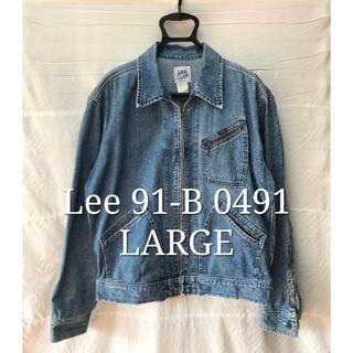 リー(Lee)のLee 0491 LARGE 91-B 復刻 日本製 デニムジャケット(Gジャン/デニムジャケット)