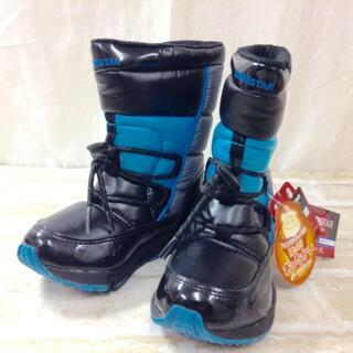 ムーンスター(MOONSTAR )の【新品】SUPERSTAR スノーブーツ 16cm ★02YE1117802(ブーツ)