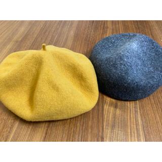 スタディオクリップ(STUDIO CLIP)の【美品】ベレー帽SET(ハンチング/ベレー帽)