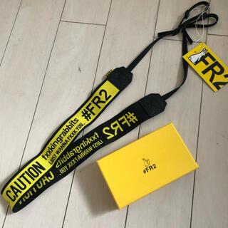 エクストララージ(XLARGE)の新品 FR2 カメラストラップ ファッキンラビット イエロー 黄色(その他)