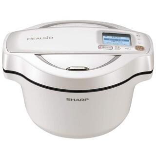 シャープ(SHARP)のシャープ ヘルシオ ホットクック 水無し自動調理鍋(調理機器)