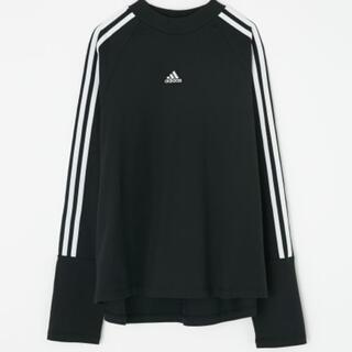 moussy × adidasコラボ ロングTシャツ