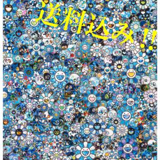 メディコムトイ(MEDICOM TOY)の村上隆 お花ドクロ【ゼロワン】ポスター takashi murakami(版画)