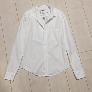 ロンハーマン(Ron Herman)のフランク&アイリーン 定価2,8万 コットン 長袖シャツ ホワイトシャツ(シャツ/ブラウス(長袖/七分))