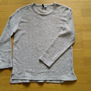 エイチアンドエム(H&M)のH&M メンズ 綿混合ニット L(ニット/セーター)