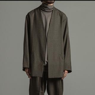 マーカ(marka)のセナ様用 Wool Soft Serge Lapelless Shirt(テーラードジャケット)