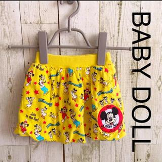 ベビードール(BABYDOLL)のベビードール スカート ミッキー ディズニー(スカート)