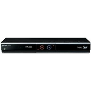 SHARP - 地デジHDD,DVD,Blu-rayレコーダー!2W録画☆3D!HDMI対応!